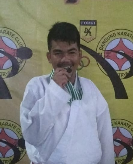 Fadli Ramadhani juara 2 kelas komite 57 kg, Siswa SMAT Al Ma'shum Mardiyah Kelas XI MIPA 2